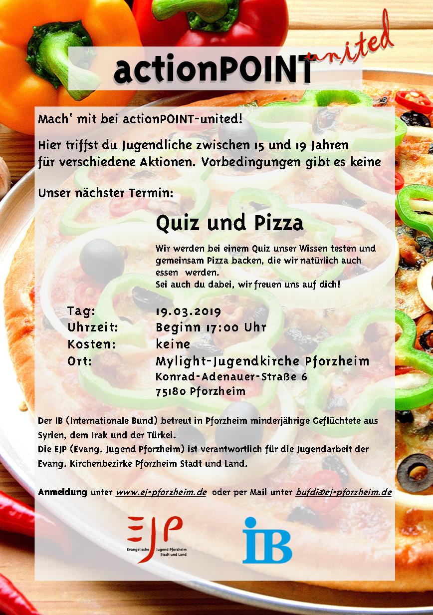 Quiz und Pizza ActionPoint